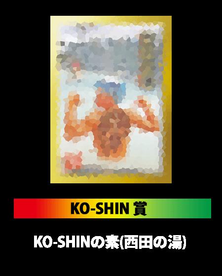 KO-SHIN賞: KO-SHINの素(西田の湯)
