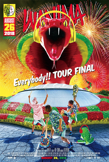 2nd DVD / Bru-ray「Everybody!! TOUR FINAL」JKT画像