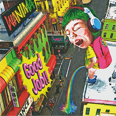 WANIMA 4th Single「Good Job!!」 ジャケット画像