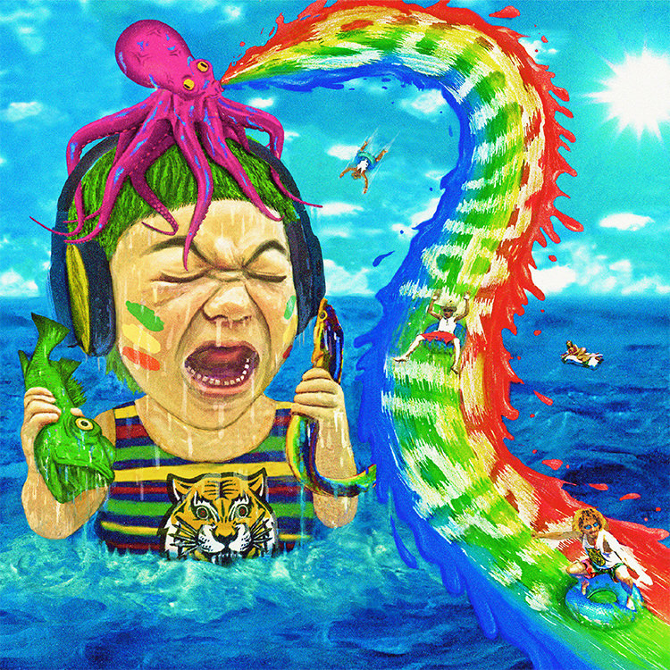 WANIMA 5th Single「Summer Trap!!」 ジャケット画像
